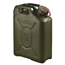 20L Scepter Fuel Can - RED strap (Petrol) OD